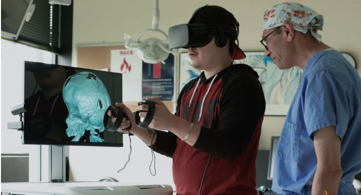 NASS News: ImmersiveTouch Launches New Solutions for Personalized Virtual Reality Surgical Imaging