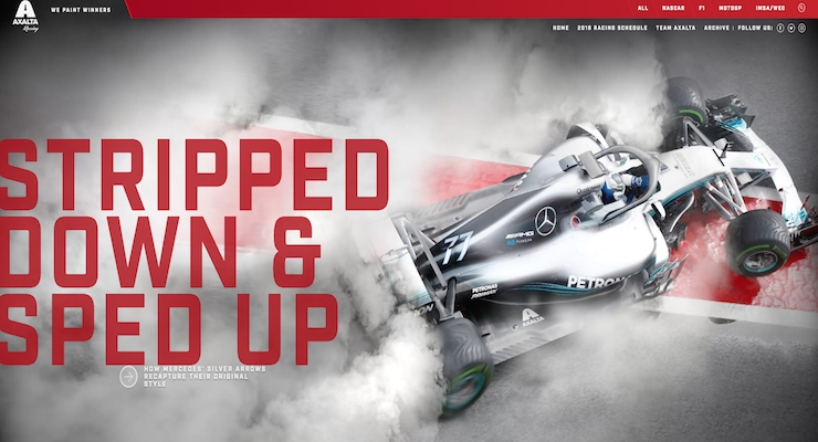 Axalta Launches New Website Celebrating its Global Racing Partner Portfolio