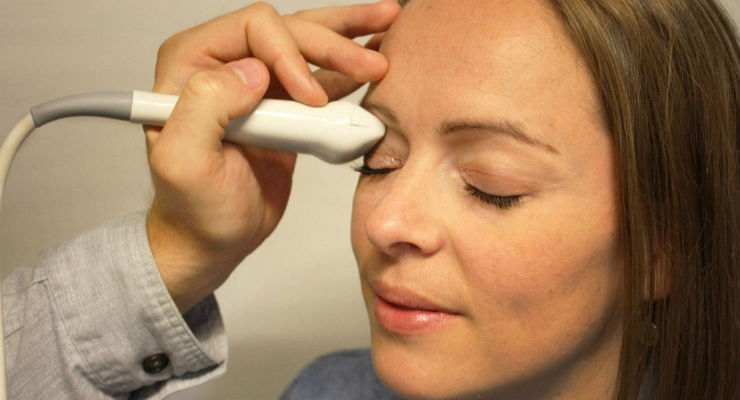 Ultrasound Device Detects Intracranial Pressure Through the Eye