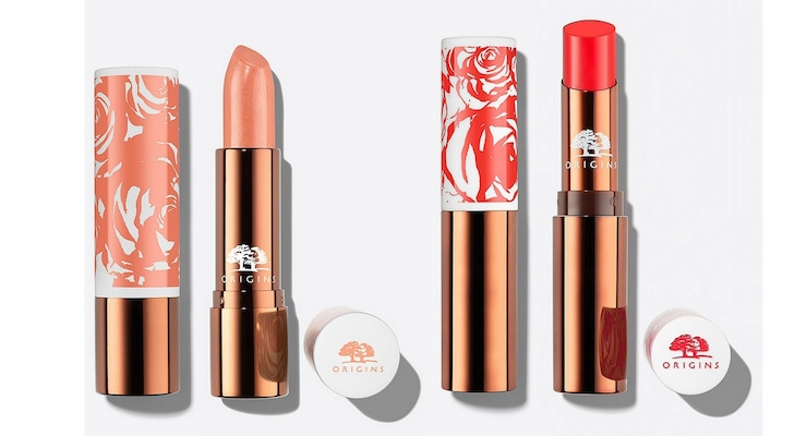 Origins Launches Lip Color, in Color-Matched Packaging