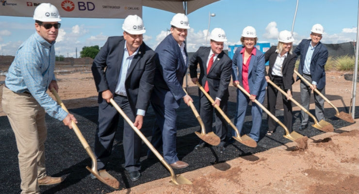 BD Peripheral Intervention will be the first business to move to the new campus that is focused on attracting new technology companies toTempe.