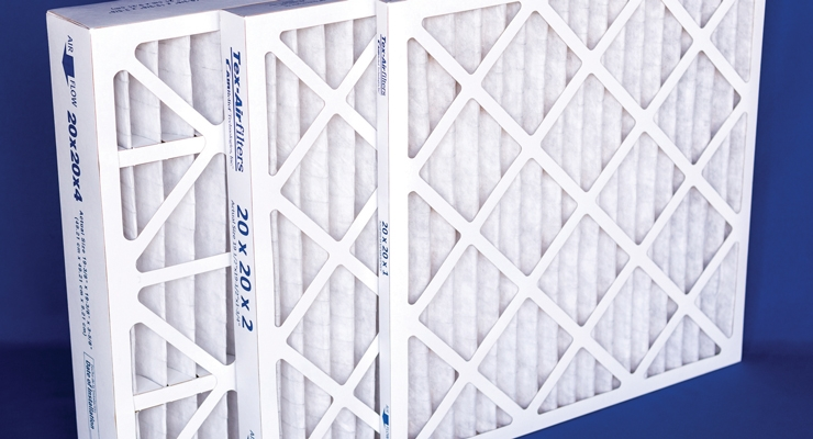 Kimberly-Clark offers a range of nonwoven air filtration media.
