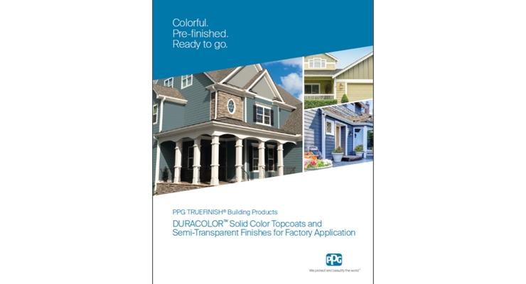PPG Publishes DURACOLOR Coatings Brochure