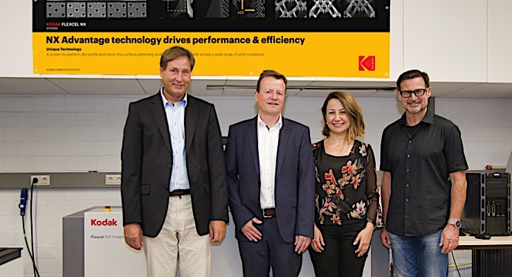 Kodak Flexcel NX System donated to Stuttgart Media University