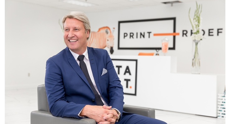 Mark Cook, CEO of Catapult Print