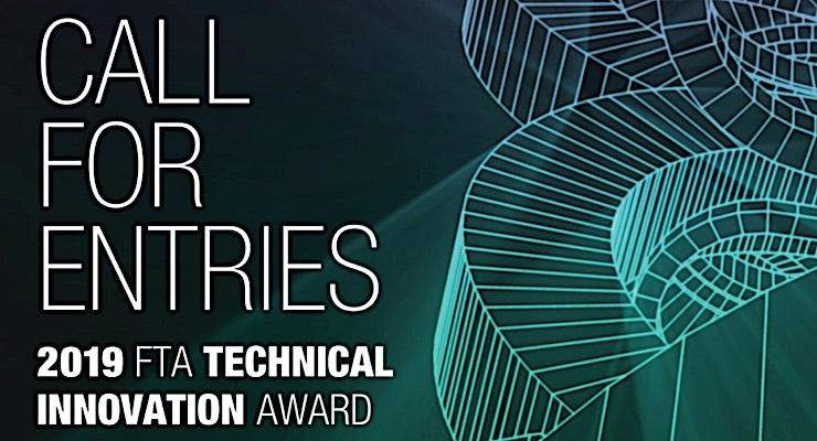 FTA seeking entries for 2019 Technical Innovation Awards
