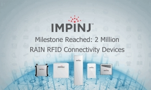 Impinj Ships Two-Millionth RAIN RFID Connectivity Device