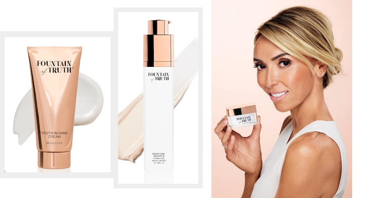 Giuliana Rancic & Hain Celestial Launch Skincare Line