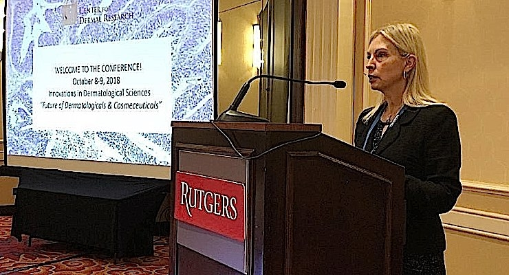 "Dr. Bozena ""Bo"" Michniak-Kohn, founder and director of the Center for Dermal Research (CDR) and Professor of Pharmaceutics at Rutgers-The State University of New Jersey."