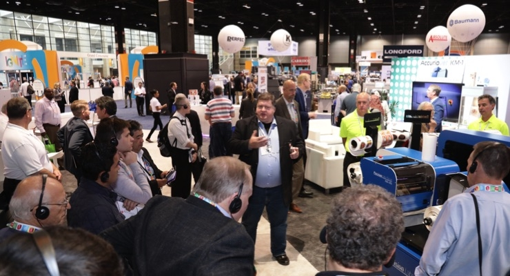 Digital label printing technology from Konica Minolta draws attention at PRINT 18.
