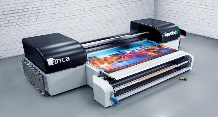 Color Ink Adds SpyderX Flatbed Press