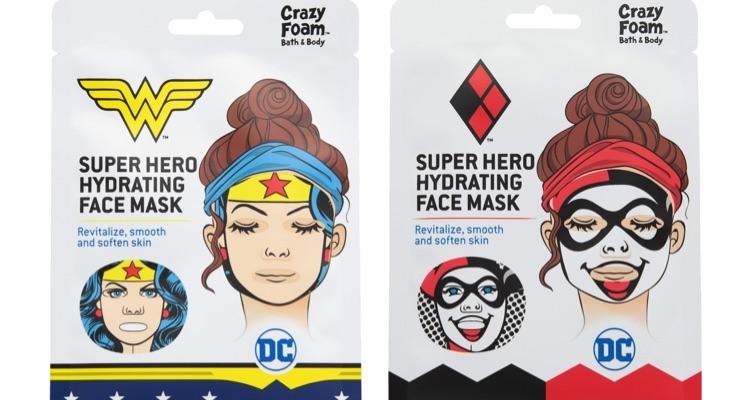 Super Hero (or Villain) Sheet Masks