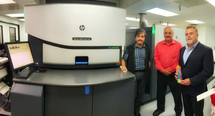 Label Impressions Launches Digital Printing with HP Indigo WS6800