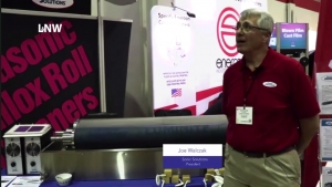 Sonic Solutions displays latest sleeve cleaning system