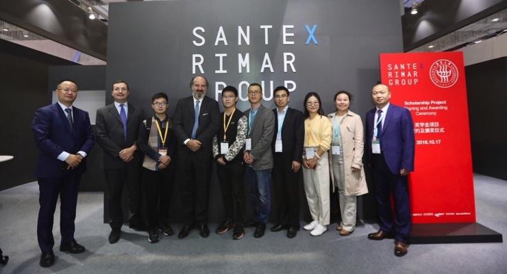 Santex Rimar Group Exhibits at ITMA Asia