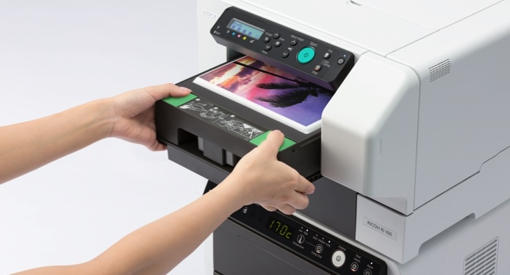 a8eca958 Ricoh Company AnaJet Reveals Newest High-Quality Direct-to-Garment ...
