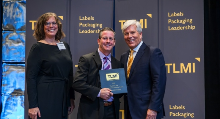 Rose City Label and Flexo Concepts receive TLMI Calvin Frost Awards