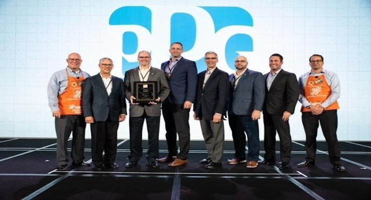 The Home Depot Names Ppg Paint Supplier Partner Of The Year