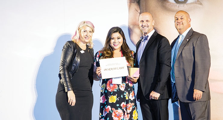 Dermaflash picks up the win for Package Innovation: Skin (Professional/Prestige)