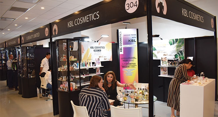KBL Cosmetics (center): Helga Arminak, CEO, President