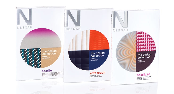 Neenah Transforms Design Collection Into a Three-Part System
