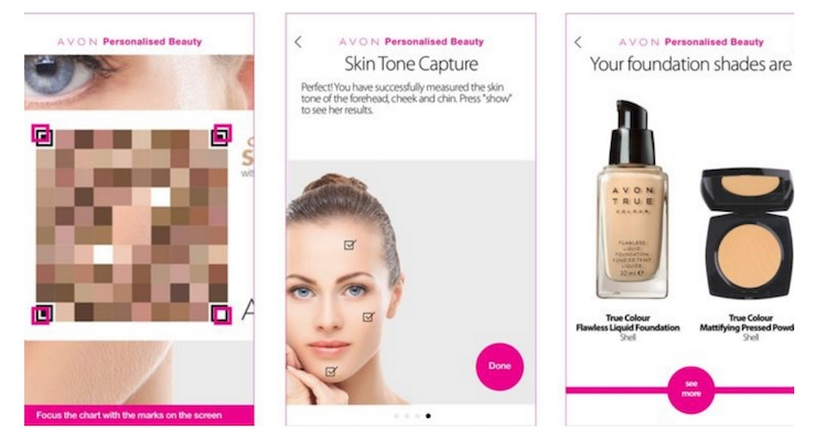 Avon Launches Personalized Beauty App That Offers True Color Matching