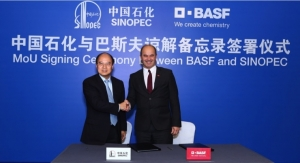 BASF, SINOPEC Sign Memorandum of Understanding to Expand Cooperation in China