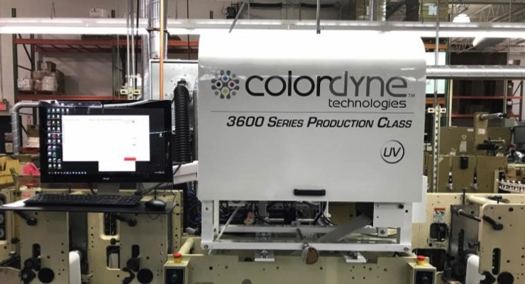 ATL invests in Colordyne UV inkjet print engine