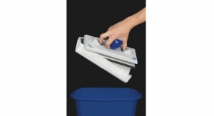 Hospeco Surface Cleaning System Adds No-Touch Disposal