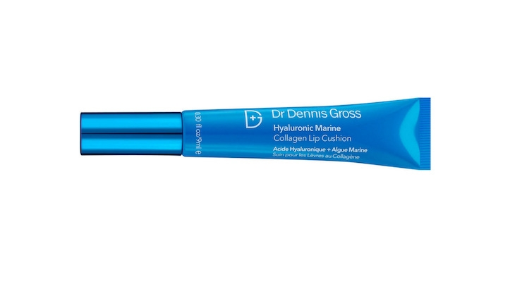 Dr. Dennis Gross' Hyaluronic Marine Collagen Lip Cushion represents a new skincare category, lipcare.
