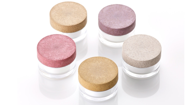 Corpack's Sughera cork-blend material is an innovative option for caps -- and might be ideal for an eye cream jar.