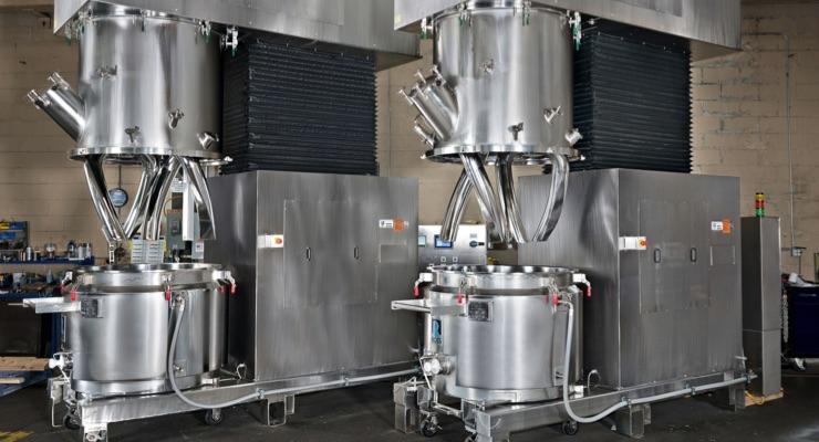 Ross  Debuts 150-Gallon Double Planetary Mixers