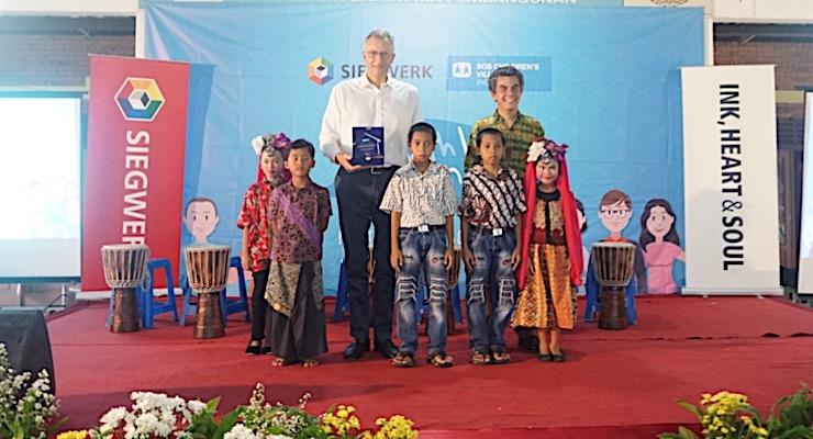 Siegwerk partners with SOS Children's Village Indonesia