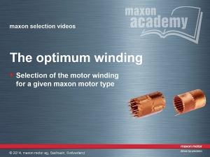 The Optimum Winding
