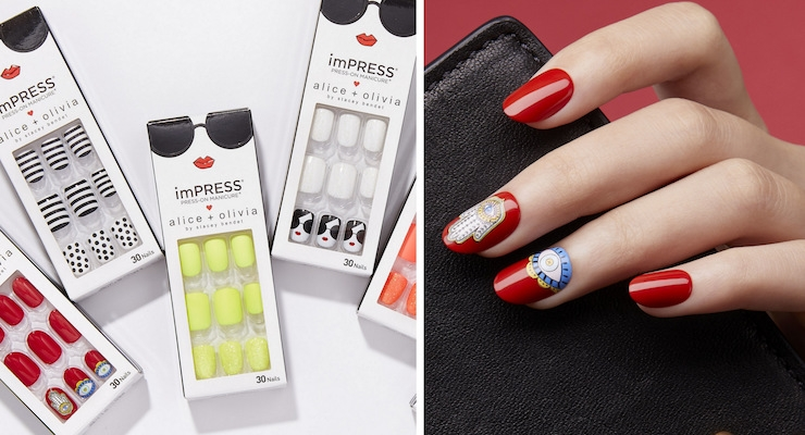 Kiss Partners with Alice + Olivia To Launch a Designer Nail Collection
