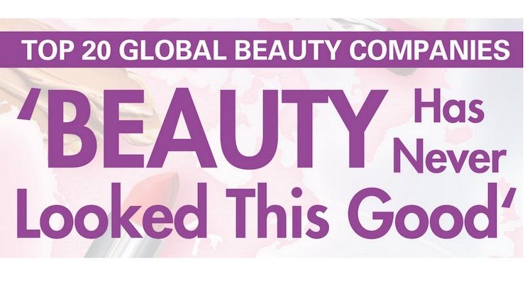 Top 20 Global Beauty Companies 2018