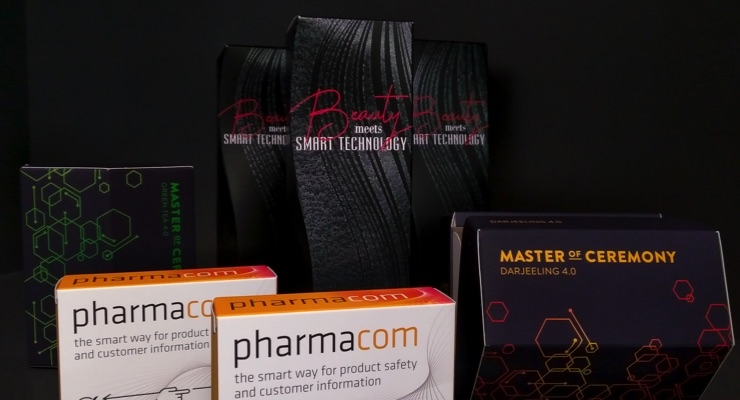 Prismade Labs and Siegwerk, in collaboration with their partners, have developed smart packaging prototypes. (Source: Prismade)