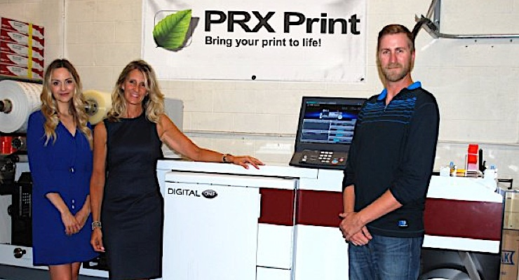 Mark Andy Digital One boosts growth at PRX