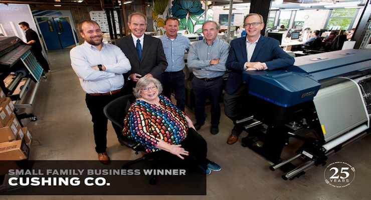Cushing Named Illinois Family Business of the Year