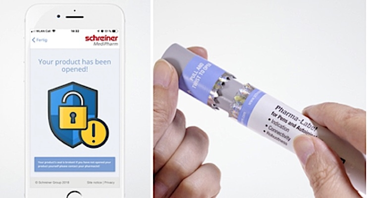 Schreiner MediPharm Launches NFC-Label for Autoinjectors