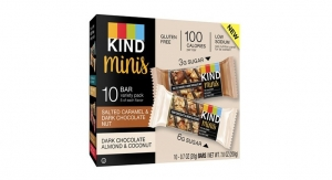 KIND Launches Reduced Portion Minis Line of Snack Bars