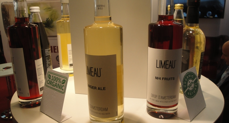 Simple label designs were a packaging theme at SIAL Paris.