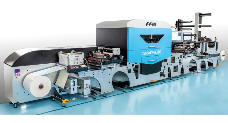 The Graphium hybrid press from Fujifim and FFEI
