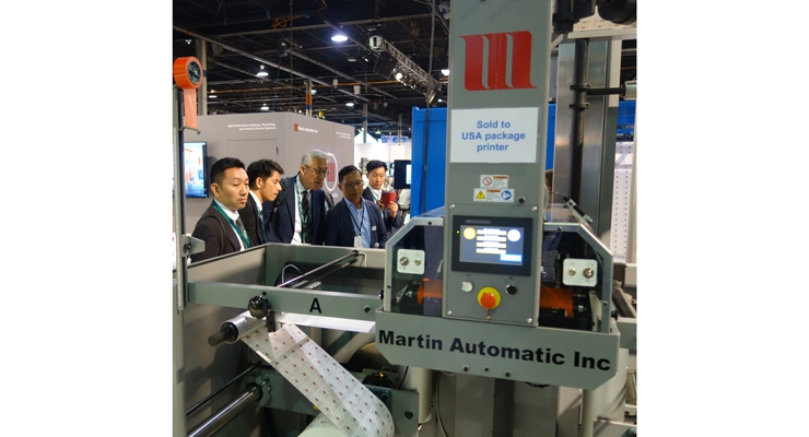 International visitors showed interest in Martin Automatic technology.
