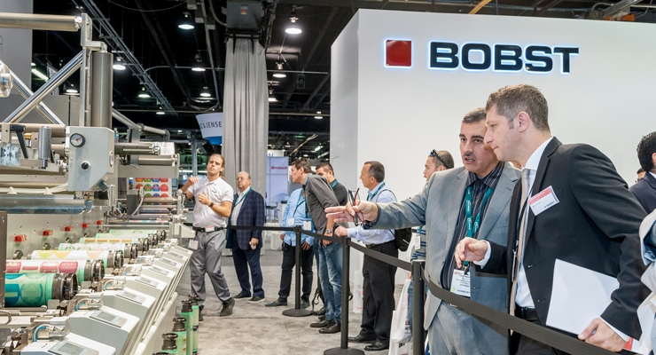 Bobst demonstrated the benefits of the automated REVO workflow.