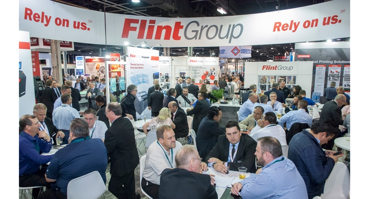 With a wide range of prepress supplies and equipment, ink innovation and digital presses from Xeikon, Flint Group drew large crowds at Labelexpo.