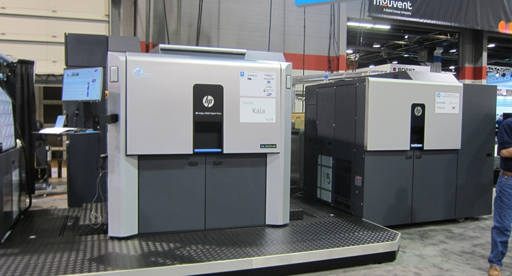This HP Indigo 20000 digital press was sold to Kala, an early adopter of HP Indigo technology.