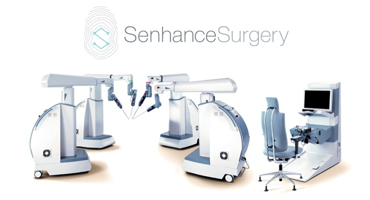 The Senhance Surgical System digitizes laparoscopic minimally invasive surgery. Image courtesy of TransEnterix.