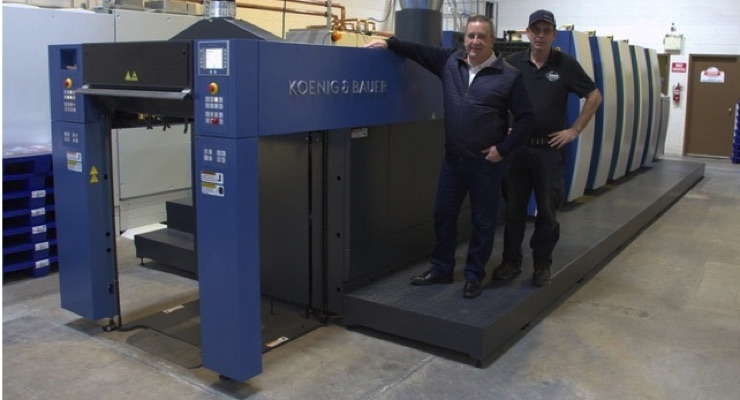 Dana Industries Adds Koenig & Bauer Rapida 75 LED Press
