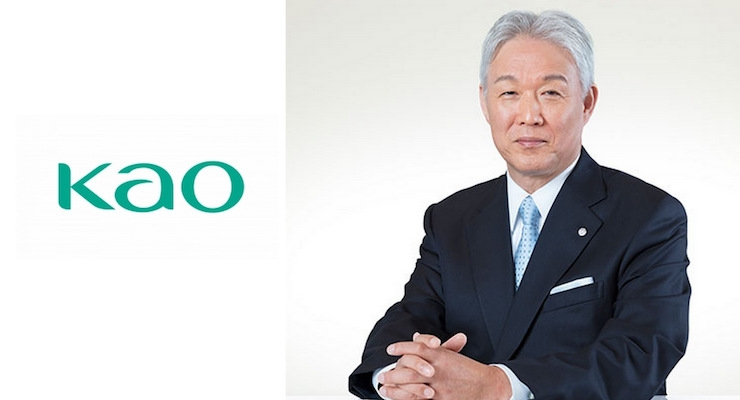 Michitaka Sawada, Kao's president and chief executive officer